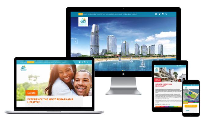 Durban Point Waterfront Website by WOW! Media Jessica Leonard