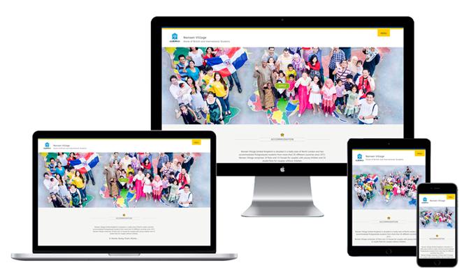 Nansen Village Website by WOW! Media Jessica Leonard